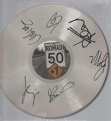 "Nomadi -Box Con Autografo 4 Lp 33 Giri + 2 Cd + Libro "" 50 + 1 "" Limited Edition"