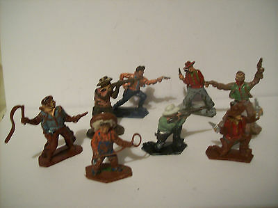 "Vintage Lone Star Harvey Seires  Cowboys  "" Eight Cowboys ""   1960's"