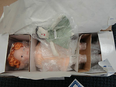 """""""Love Is Blind"""" Bessie Pease Gutmann Doll Collection 12"""" Hand-painted Mint in Bo"""