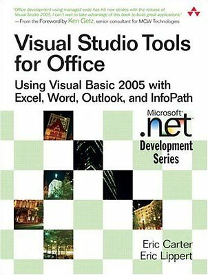 Visual Studio Tools for Office Using Visual Basic 2005 with Excel, Word, Outl 0