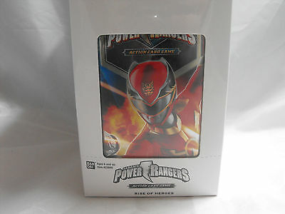Power Rangers Rise Of Heroes Booster Box Of 15 Packs