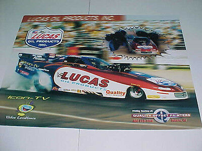 Lucus Oil Products Jason Rupert NHRA Funny Car poster