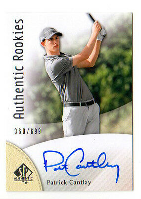 Patrick Cantlay 2014 Sp  Authentic , Authentic Rookies (Autograph) # /699