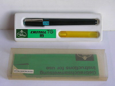 VINTAGE FABER CASTELL TG TECHNICAL PEN DRAWING DRAFTING 0.7 mm GERMANY BOXED
