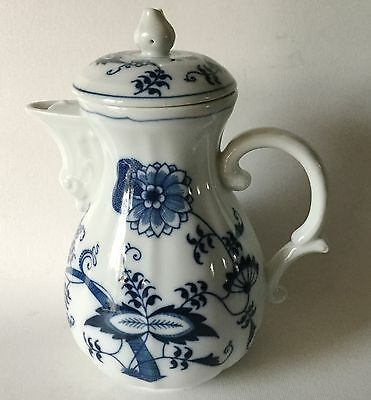 Vintage BLUE DANUBE Japan COFFEE POT 4 Cup Early Banner Mark 25/72