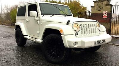 2014 Jeep Wrangler 2.8 CRD Overland 2dr Automatic Diesel Convertible