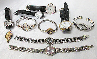 Lot Of (10) Vintage Watches - Mixed Lot, Many Nice Watches (#07)