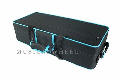 CASE  for Alto Saxophone   Black Color with Blue Trim - Case ONLY -  NEW