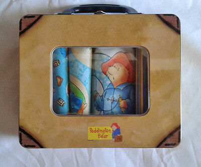 quilting treasures ~ PADDINGTON BEAR COUNTS QUILT KIT ~ fabric in suitcase