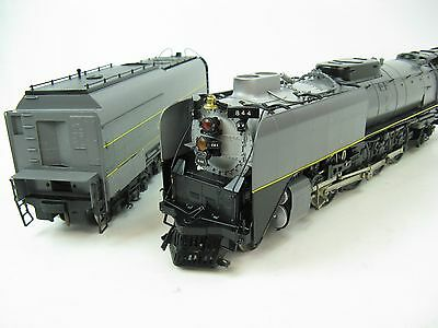 KTM Brass O-Scale 2-Rail Union Pacific UP  FEF-3 4-8-4 Locomotive w/ Can Motor