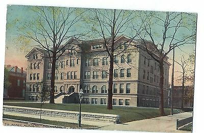 Indianapolis, IN, St. Agnes Academy, pm 1912
