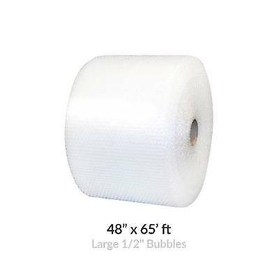 Uboxes BUBBLAR48065 48 in. x 65 ft. Large Bubble Wrap Roll