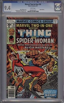 Marvel Two-In-One #30 - CGC Graded 9.4 - 2nd Appearance Of Spider-Woman