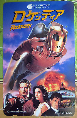 Disney Teleca THE ROCKETEER Movie Japanese Phone Card 1991 Touchstone PROMO