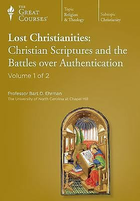 The Great Courses: Lost Christianities: Christian Scriptures and the Battles ov