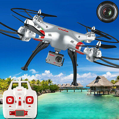 Syma X8G 2.4G 4CH 6Axis With 8MP HD Camera Headless Mode RC Quadcopter FPV Drone