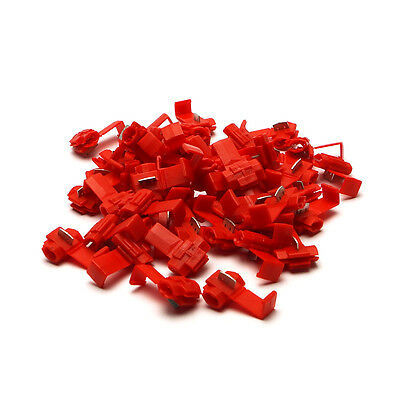 10 fold Pack Branch connector Cable Quick Power thieves red new