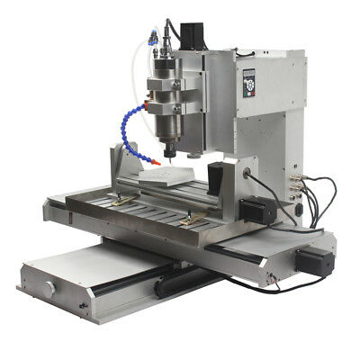 HY-6040-DIY 5 Axis 2200W Desktop PCB CNC Router Drilling  Machine Factory Direct