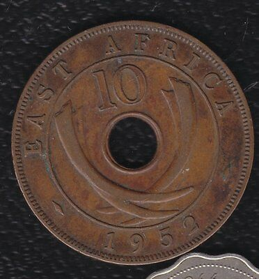 East Arica 10 Cents 1952