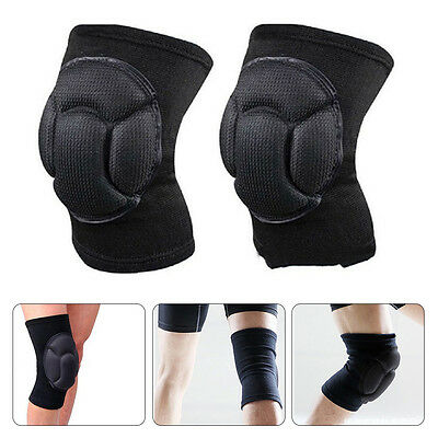 1 Pair Comfort Skiing Football Cycling Knee Protector Sports Safety Kneepads MN