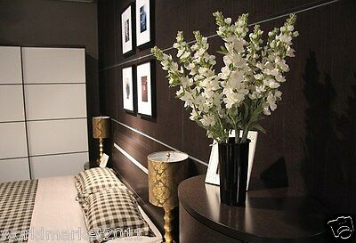 New Home Decoration Height-45cm Black Vase + High Emulation Cloth Flowers
