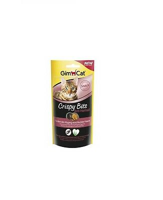 Gimcat Crispy Bits Anti-Hairball 40 g Neuheit August 2016