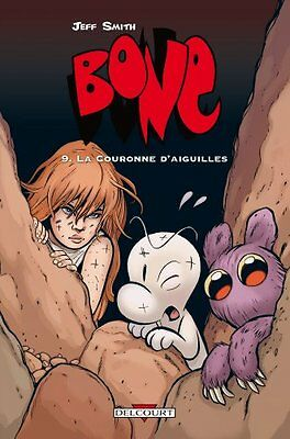 Bone, Tome 9 La couronne d'aiguilles Jeff Smith Steve Hamaker Delcourt Broche