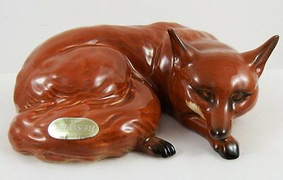 Lovely Early Beswick Fox ~ Curled #1017
