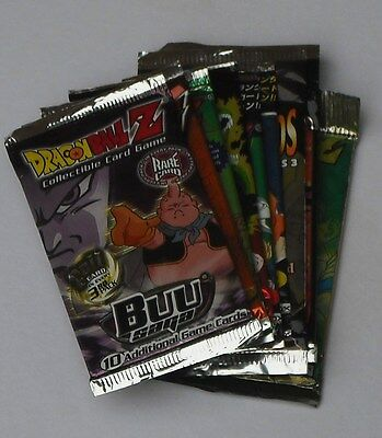 Dragonball Z Trading Cards & Ccg Mixed Lot Of 25 Packs New & Sealed