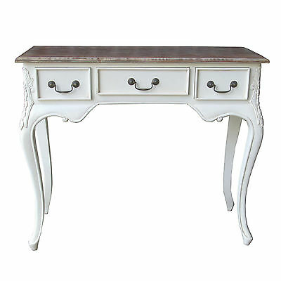 French Console Hall Table - Antique White - New - Was £250