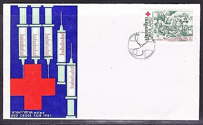 Thailand 1981 Red Cross Fair First Day Cover - Unaddressed