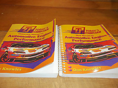 Today's Technician Engine Performance Manuals 1995 - FREE SHIPPING AFTER #1++++