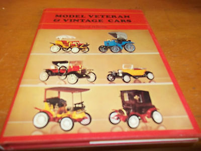 Model Veteran & Vintage Cars - 1972 - Hardcover -  FREE SHIPPING AFTER #1++++