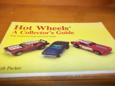 """Hot Wheels """"A Collector's Guide"""" - 1993 -  FREE SHIPPING AFTER #1++++"""