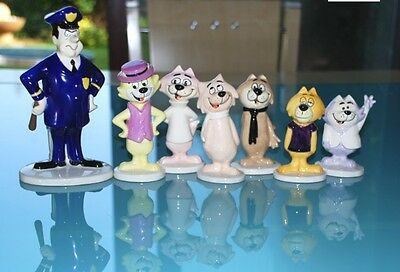 Beswick Top Cat Set Boxed with Certificates of Authenticity - Hanna Barbera COA