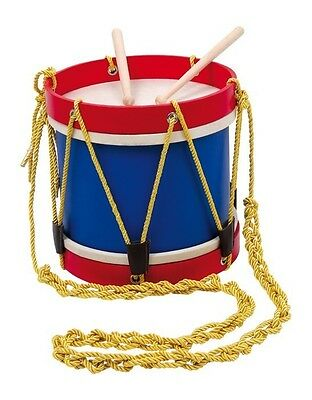 Wooden Marching Band Drum - Musical Toy Instrument