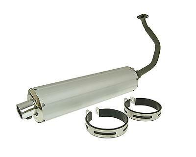 Exhaust Aluminium for China Scooter GY6 125 150ccm Baotian,Ering,Kreidler,Qing