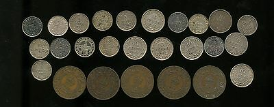 Lot of 26 Miscellaneous Newfoundland coins 1903 - 1947 CO106