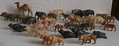40 French  c1900  CELLULOID  Noah  Ark  /Christmas  HIGH  QUALITY
