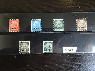 Super Perfect Mint Lot - Germany Alsace Occupation Issues