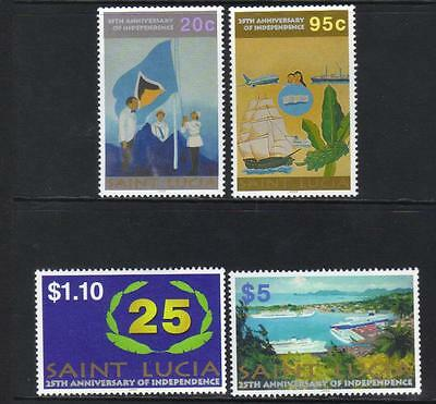 ST LUCIA 2004 25th ANNIV OF INDEPENDENCE