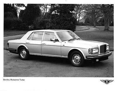 1982 Bentley Mulsanne Turbo ORIGINAL Factory Photo ouc1494-TY3CZW
