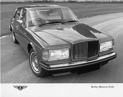 1984 Bentley Mulsanne Turbo ORIGINAL Factory Photo ouc1499-VN7AWK