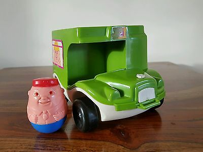 Vintage 1970's Airfix Bus With Driver Weeble