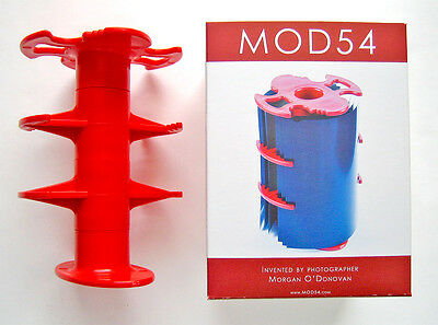 "Mod 54  5"" X 4"" Sheet Film Adapter (New)  For Developing In Pat.  3 Reel Tanks"