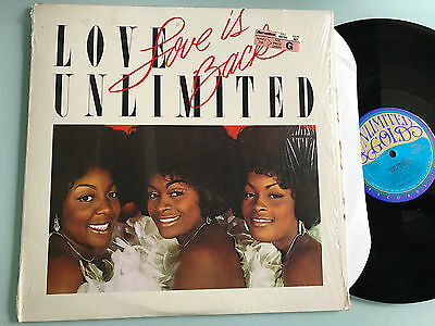 LP USA 1979 NM  Love Unlimited – Love Is Back Label: Unlimited Gold – JZ 36130