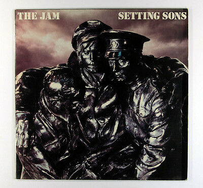The Jam - Setting Sons (Vinyl LP - UK 1st Pressing with embossed sleeve)