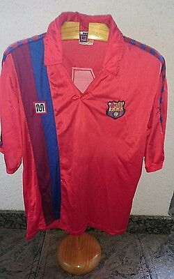 camiseta Meyba roja FC BARCELONA #4 match player shirt