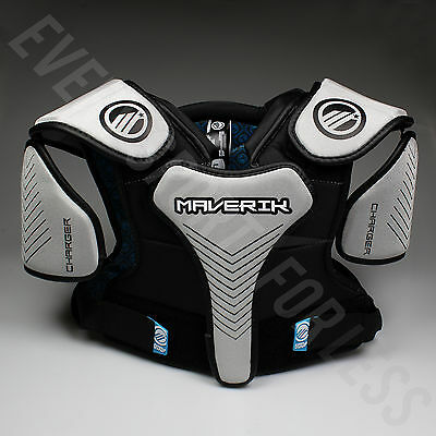 NEW Maverik Lacrosse Charger Youth Lax Shoulder Pads