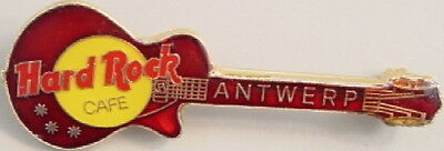 Hard Rock Cafe ANTWERP 1996 RED Translucent Les Paul GUITAR PIN 2LC - HRC #301